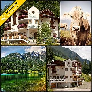 Schein Bon d'achat de voyage 4jours dans le 3* maison de campagne Paradis dans spiss près Ischgl en Tyrol ERLEBEN Reiseschein
