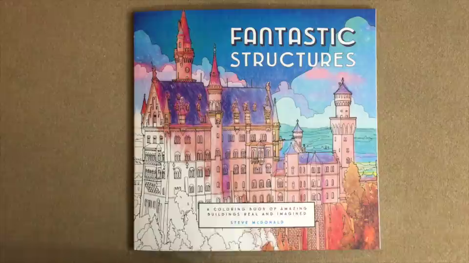 Amazon Customer Reviews Fantastic Structures A Coloring Book
