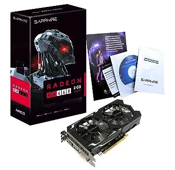 Sapphire 11257-00-20G - Tarjeta gráfica (Radeon RX 460, 2 GB ...