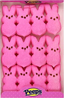 product image for Peeps Pink Bunnies/12-Pc