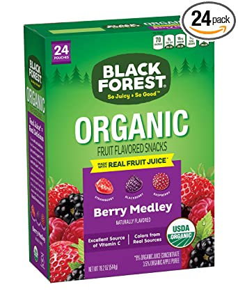 Black Forest Bolsas de fruta orgánica, fresa, cereza, uva ...