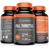 Male Enhancing Pills Increase Size, Stamina & Strength – FULL THROTTLE #1 Libido Enhancement Testosterone Booster for Men – Best Enlargement Supplement w/ L-Arginine, Maca, Tongkat, Ginseng + More