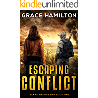 Escaping Conflict (Island Refuge EMP Book 1) book cover