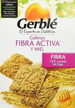 Galletas fibra activa y miel gerblé 400 g - [Pack de 3]