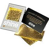 Shine Cartine per sigarette in oro 24 ct, confezione da 2 pezzi