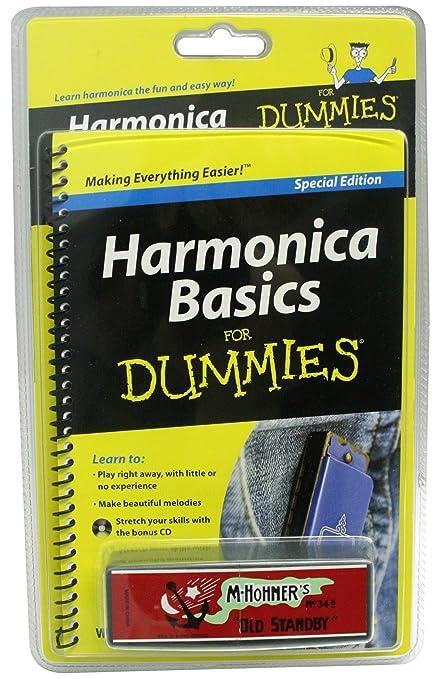 Amazon.com: For Dummies hfdpk Harmonica Basics Learner del ...