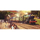 Gibsons Sunshine and Steam Jigsaw Puzzle (636-Piece)