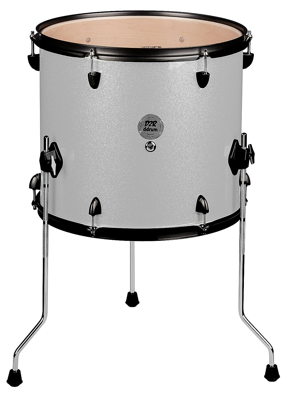 ddrum D2R FT 12X14 SILVER SPKL Series Sparkle Floor Tom Drum Set