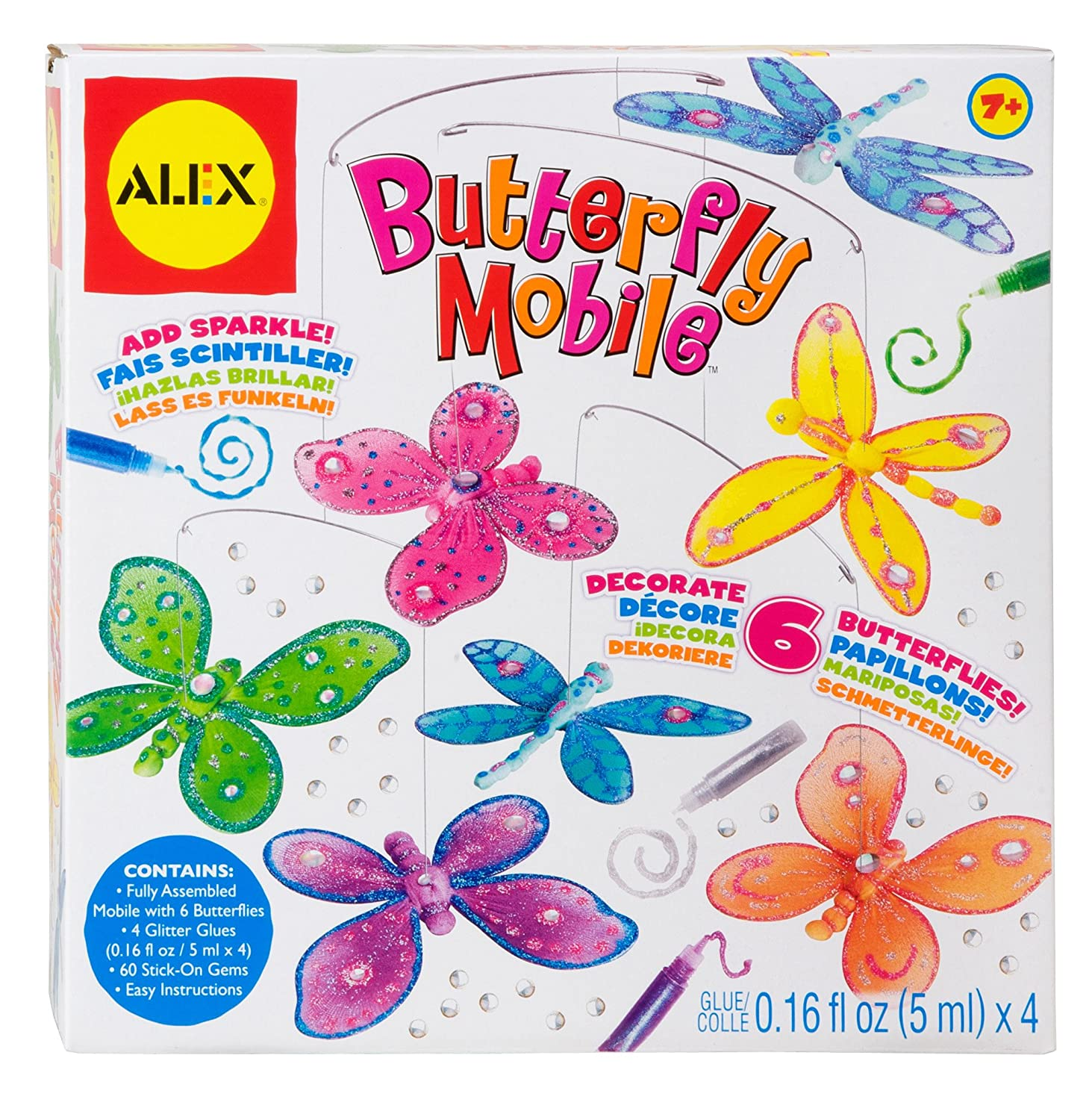 Alex Toys Schmetterling Mobile