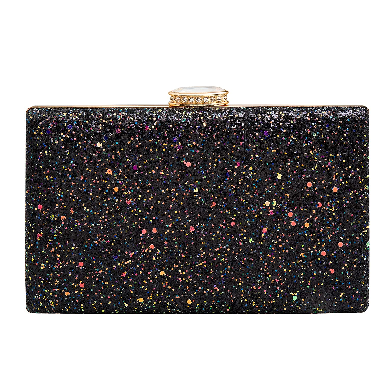 24d6d36453 Sparkling Clutch Purse Elegant Glitter Evening Bags Bling Evening Handbag  for Dance Wedding Party Prom Bride
