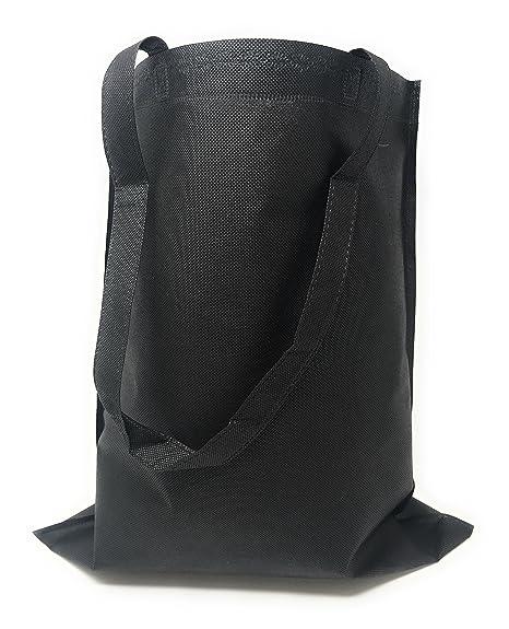 594f6f4f92 Amazon.com  50 Bulk Tote Bag Mega Pack - Reusable Shopping Bags ...