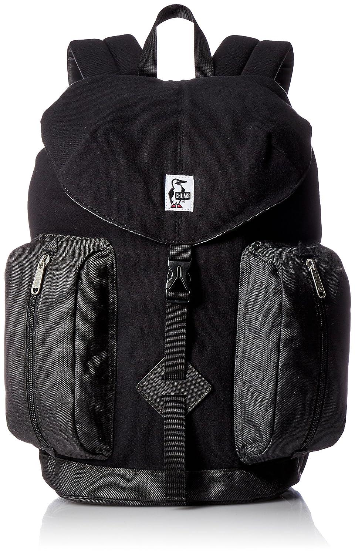 [チャムス] リュック 2 Pockets Day PackSweat Nylon CH60-2401-K018-00 B0749Q9VBQ ブラックチャコール ブラックチャコール