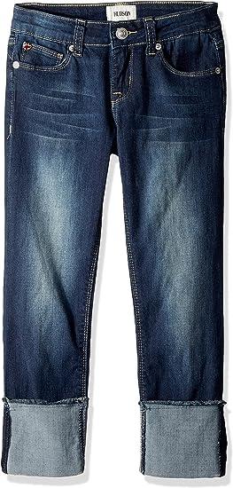 Hudson Girls Roll Cuff Crop Pant Jeans