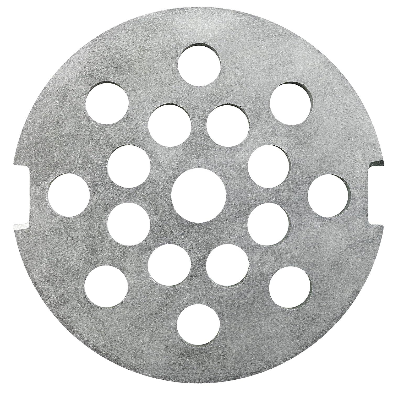 Ankarsrum Original Aluminum Grinder Hole Disc, 8 Millimeter