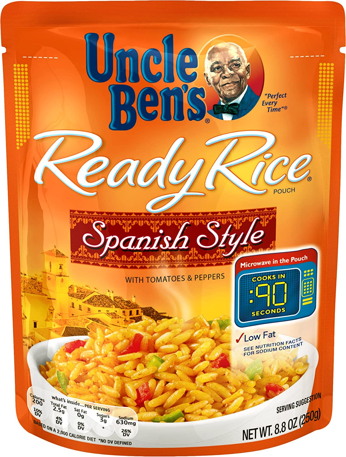 UNCLE BEN'S Ready Rice: Spanish Style (12pk)