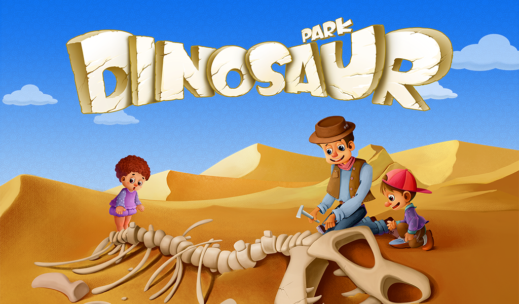 Dinosaur Park - Fossil dig and discovery dinosaur games