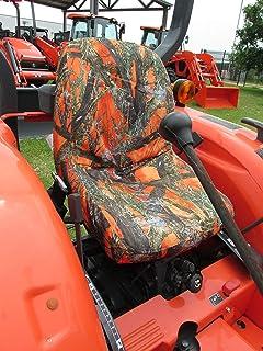 Amazon com: Durafit Seat Covers, Kubota Orange Camo Seat