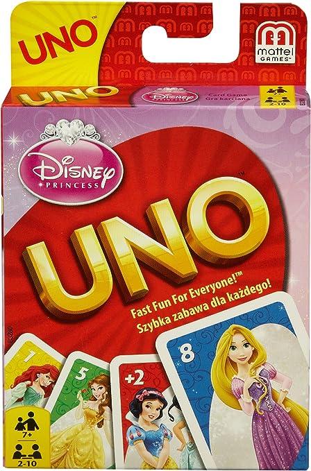 UNO Disney Princess: Amazon.es: Juguetes y juegos