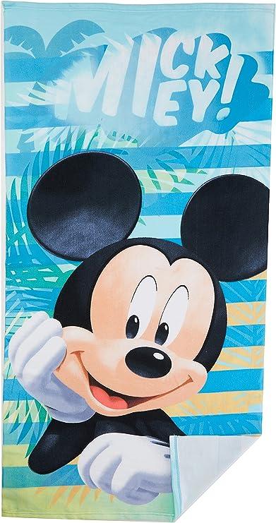 Mickey Maus Strandtuch 70x140 cm Saunatuch Badetuch Handtuch Disney Mouse