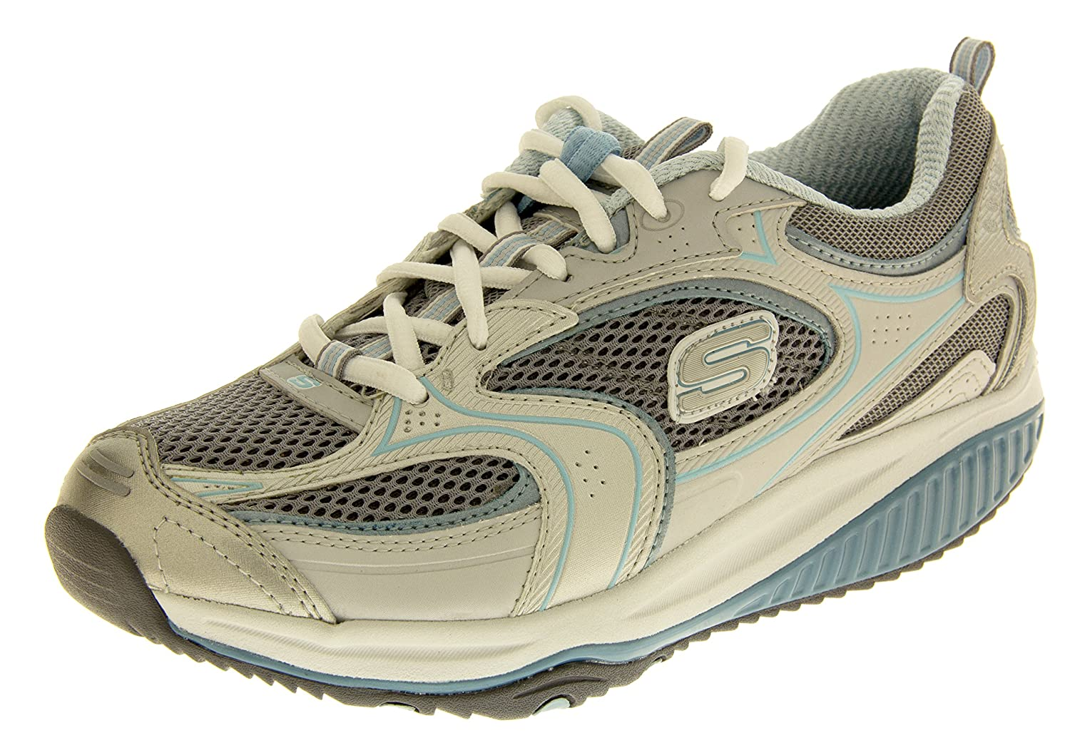 SKECHERS Shape Ups Trainers Ladies Fitness Walking Toning Shoes Sports Trainer