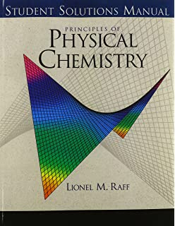 Principles of physical chemistry lionel m raff 9780130278050 student solutions manual fandeluxe Images