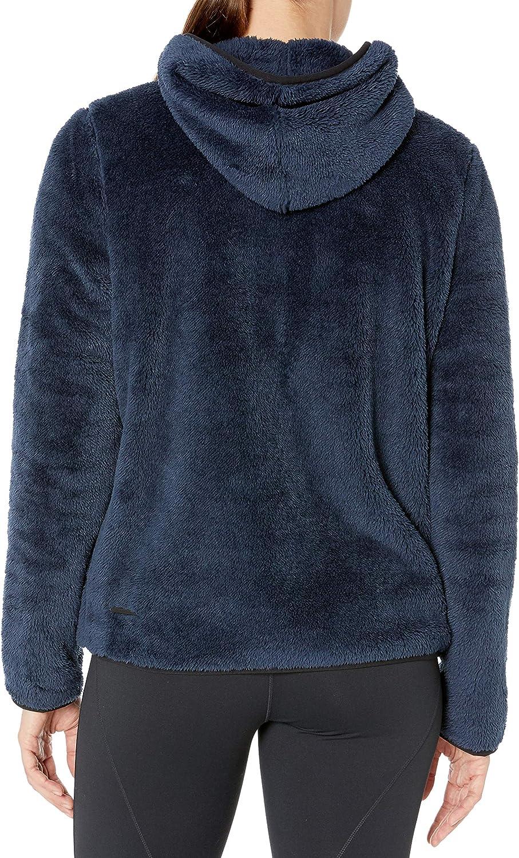 Core 10 Womens Cozy Teddy Bear Fleece Yoga Full-Zip Hoodie Jacket Brand