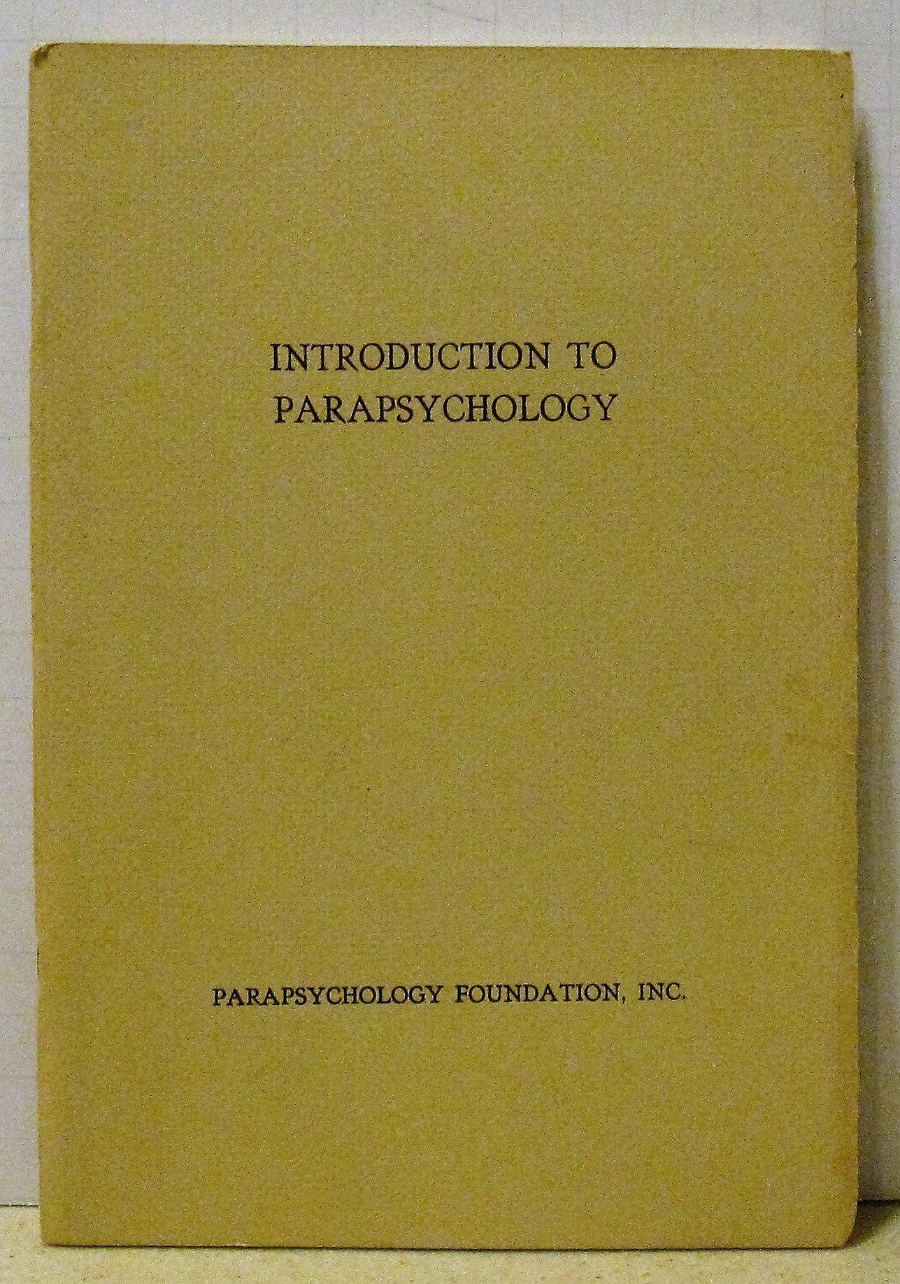 parapsychology foundation