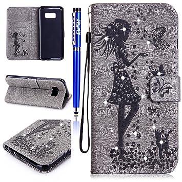 FESELE - Zapatillas de triatlón para niña gris Samsung Galaxy S8 Plus: Amazon.es: Electrónica