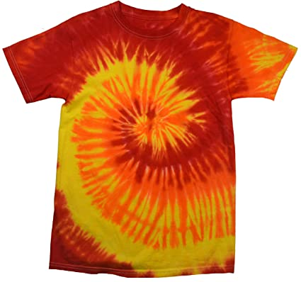 20b8a914 Colortone Youth & Adult Tie Dye T-Shirt | Amazon.com