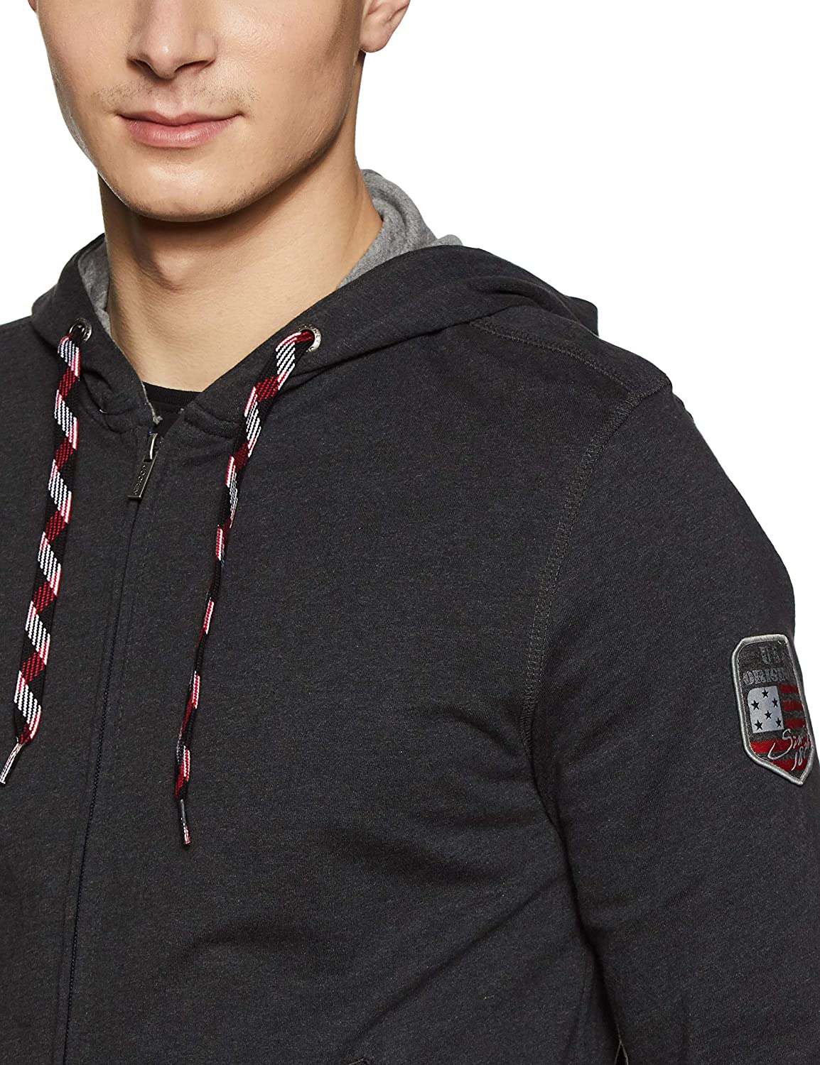 7bf594f9727 Jockey Men's Cotton Zip Thru Hoodie: Amazon.in: Clothing & Accessories