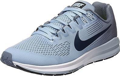 Nike Wair Zoom Structure 21, Zapatillas para Mujer, Multicolor (Armory Blue/Armory Navy/Cirrus Blue 001), 39 EU: Amazon.es: Zapatos y complementos