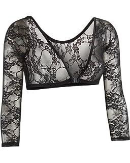 95fc101bcada45 Sleevey Wonders Women s Basic 3 4 Length Slip-on Mesh Sleeves at ...