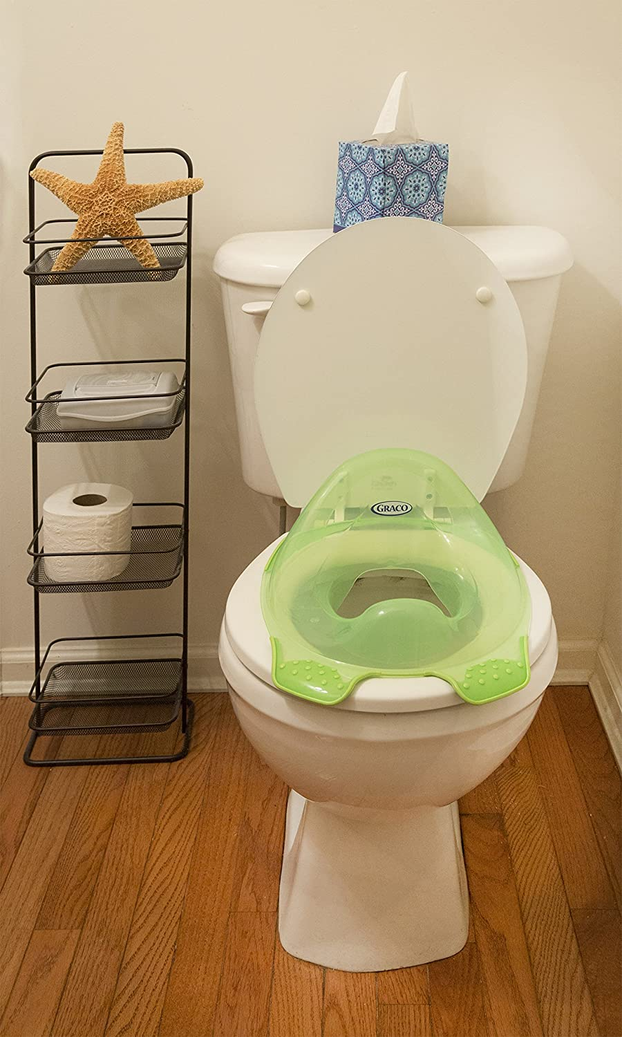 Green Graco Clean Contour Potty Ring