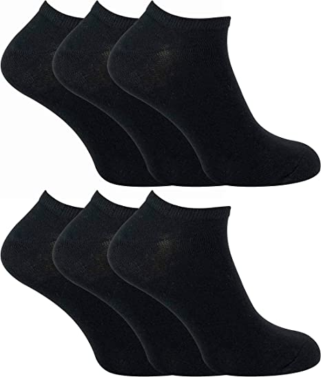 Sock Snob - 6 Pack Hombre Algodon Quarter Cortos Tobillero ...