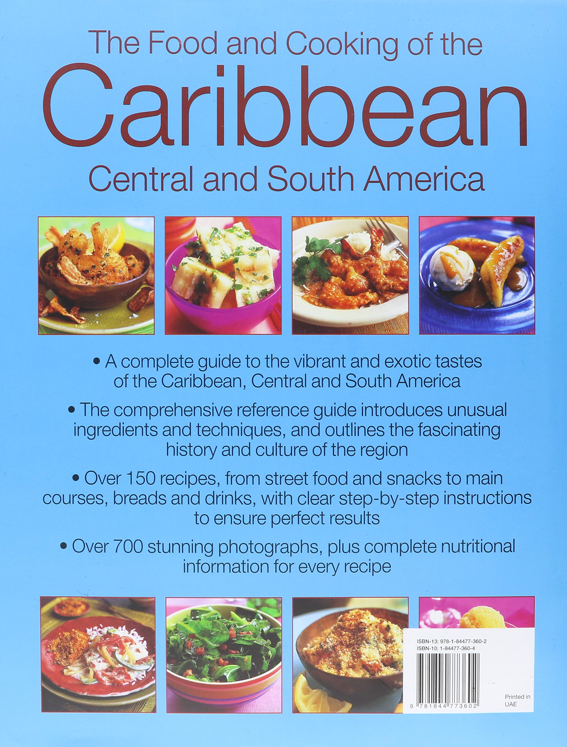 The caribbean central south american cookbook tropical cuisines the caribbean central south american cookbook tropical cuisines steeped in history all the ingredients and techniques and 150 sensational step by step forumfinder Images