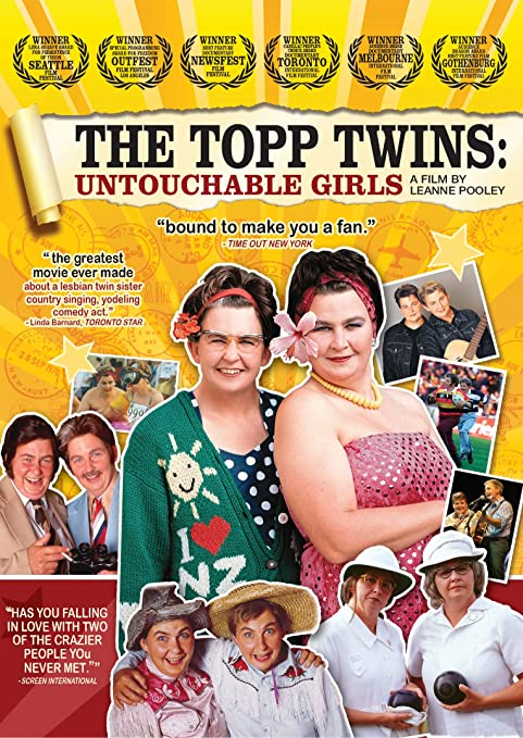 Lesbian singing twins