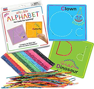 product image for Wikki Stix Alphabet Cards Set