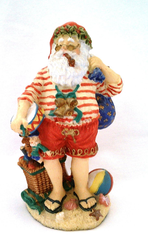 Christmas In Australia Santa.Amazon Com Australia Santa Figurine 4 Christmas