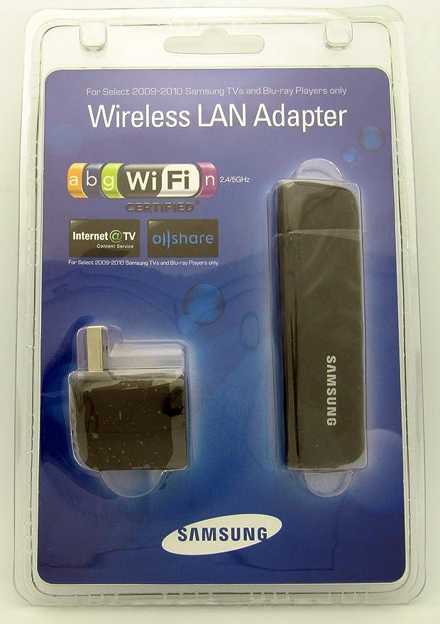 SAMSUNG WIS09ABGN Wireless LINKSTICK WIS09ABGN2 USB LAN Adaptador 2009-2010 & amp; 2011 Reproductores de BLU-Ray, televisores 2010 2011: Amazon.es: Electrónica
