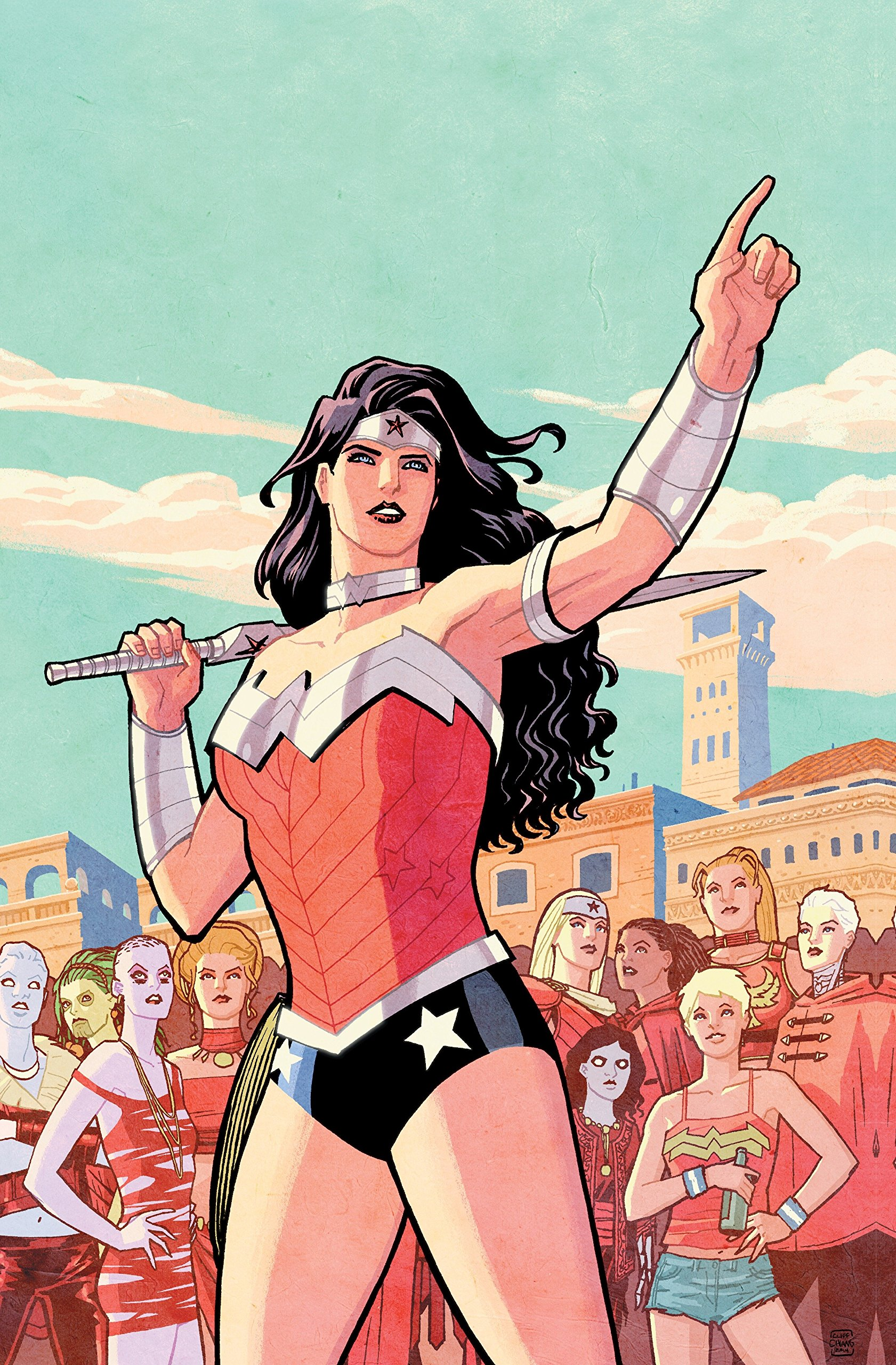 994e36a4b2e7e Amazon.com: Absolute Wonder Woman by Brian Azzarello & Cliff Chiang ...