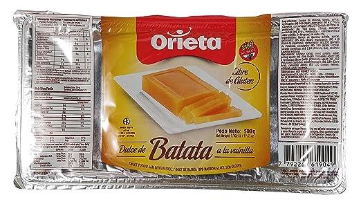 Amazon.com : ORIETA DULCE Dulce de batata Orieta, 11.25 lb : Jams And Preserves : Grocery & Gourmet Food