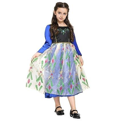 Katara 1761 - Disfraz de Princesa Anna - Frozen Vestido ...