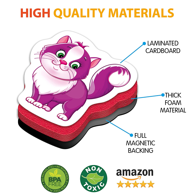 Amazon.com: Fridge Magnets for Toddlers FARM Animals (31 pcs ...