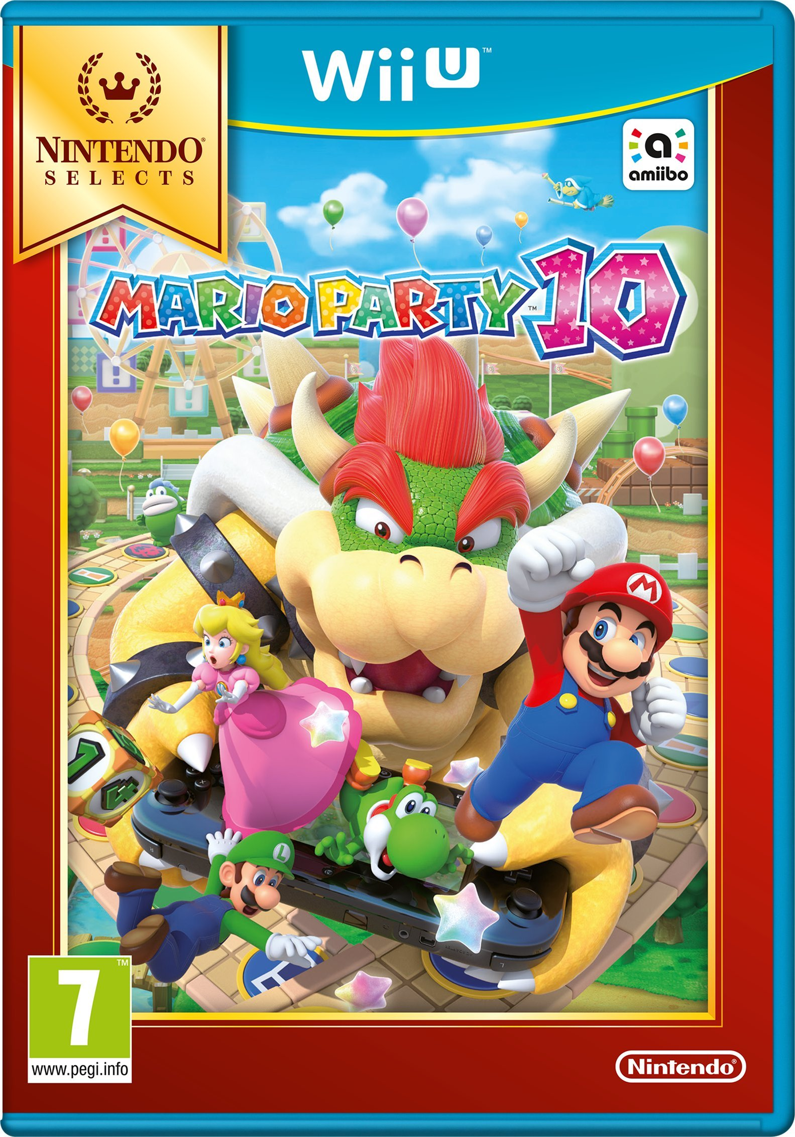 Mario Party 10 Selects (Nintendo Wii U)