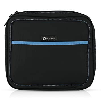 Squeeze Pod Slim Toiletry Travel Bag - 2 Bags in 1  Durable Nylon Toiletry  Case 53dcc835816b2