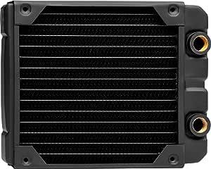 Corsair Hydro X Series, XR5 Radiador de Refrigeración Líquida (Una Montaje de Ventilador de 140mm, Fácil Instalación, Diseño Cobre Primera Calidad, Guías Tornillos ...