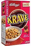 Kellogg's Krave Chocolatey Cereal Family Size 564 Gram
