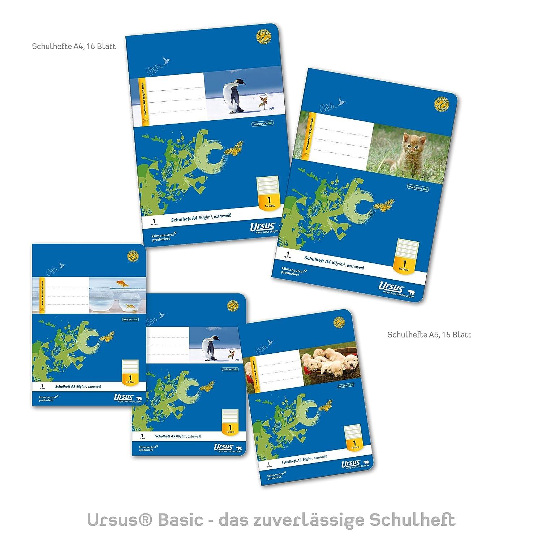 Ursus 040416021/ /Quaderno klimaneutrales extraweisses qualit/à della carta Confezione da PZ.