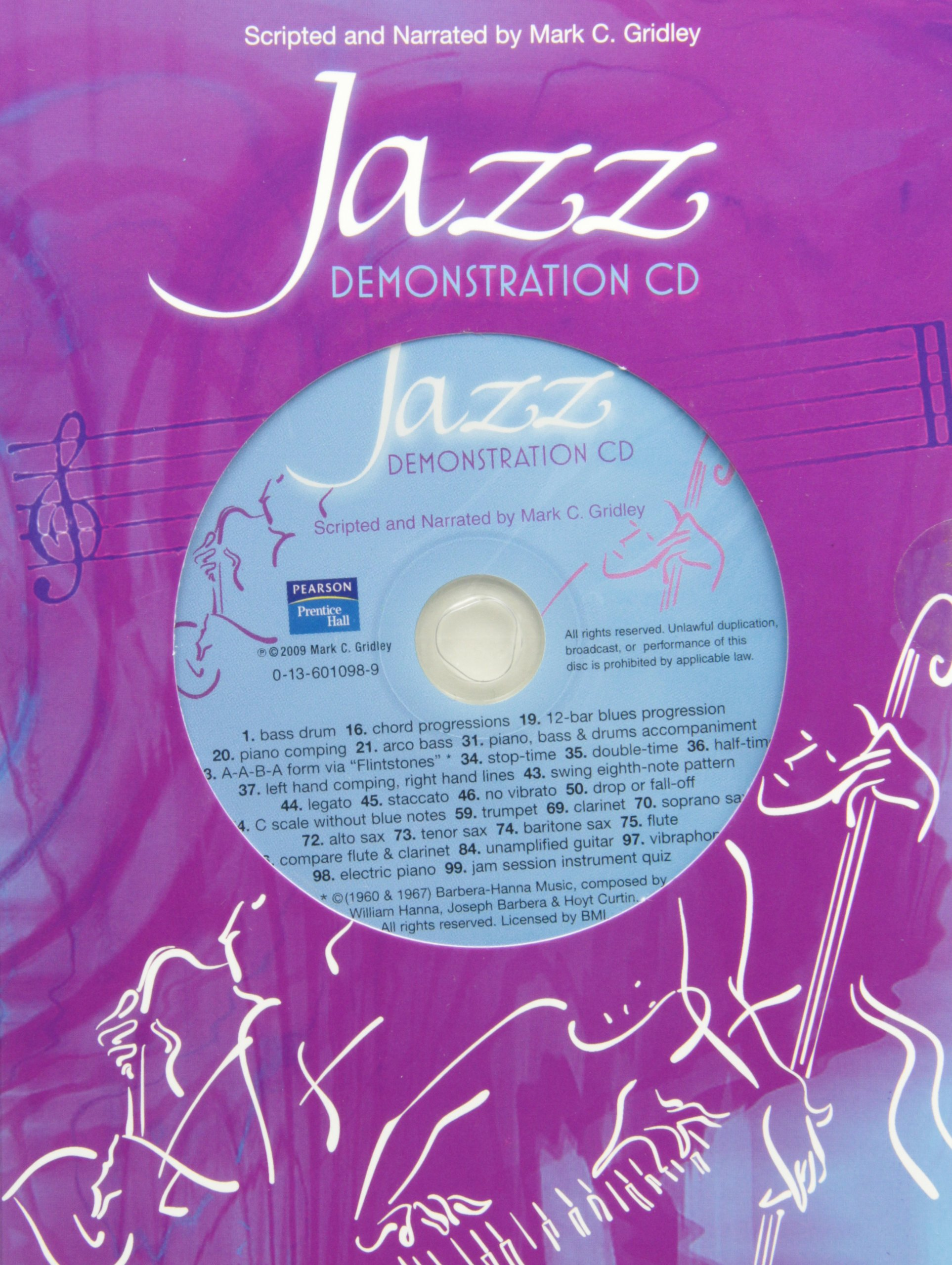 Jazz Demonstration Disc for Jazz Styles: History and Analysis by Pearson