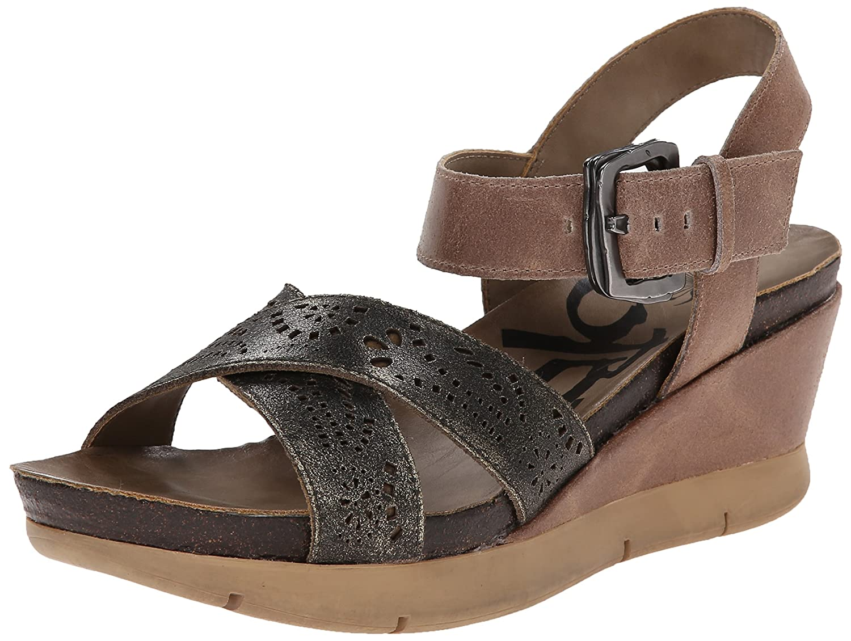 OTBT Women's Gearhart Wedge Sandal B00PRX0URI 7.5 B(M) US|Desert Gold